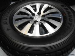 ขายล้อแม็ก Nissan Navara Calibre ขอบ 16 พร้อมยาง Dunlop 255/70/16 ป้ายแดงปี 13/เทิร์นได้ ใส่ฟรี ส่งฟ