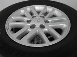 ขายล้อแม็ก Toyota Fortuner ขอบ 17 พร้อมยาง Bridgestone 265/65/17 ปี 13/เทิร์นได้ ใส่ฟรี ส่งฟรีค่ะ