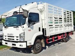 รถบรรทุกอีซูซุ 6 ล้อ FRR 190 แรงม้า คอกเหล็กกล่อง