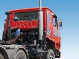 ท่อไอเสีย สแตนเลส หัวลาก รถบรรทุก โทร 085-100-5115