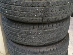 ขายยางกระบะ ยี่ห้อ Michelin CROSS TERRAIN 4 เส้น 265/65r17 ปี 2012