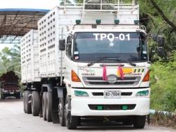 ขายรถบรรทุก HINO GY2PSLA พร้อมพ่วงบรรทุก โทร 086-4792362(คุณโอ๋)