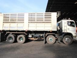 ขายรถบรรทุกHINO GY2PSLA  ปี 2012 พร้อมพ่วง โทร 0864792362(คุณโอ๋)
