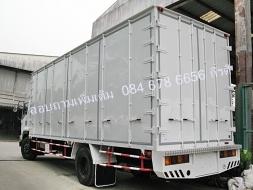 รถบรรทุกอีซูซุ 6 ล้อใหญ่  FTR 240 แรงม้า ตู้อลูมิเนียม 10 บาน