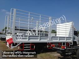 ขายรถบรรทุก6ล้อใหญ่ยาว 7.8เมตร ต่อกระบะเหล็กคอกแป๊บน้ำ ดาวน์0-10%