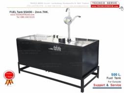 ถังน้ำมัน#เหล็ก#สแตนเลส#40 - 100 - 1,500 ลิตร ถังน้ำมัน#รถบรรทุก