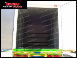 รถบรรทุกอีซูซุ FRR 6 ล้อ 190 แรงม้า ตู้อลูมิเนียม ประตู 10บาน