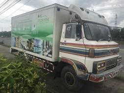 รถตู้บรรทุก 6 ล้อ HINO KM505  117 แรงม้า