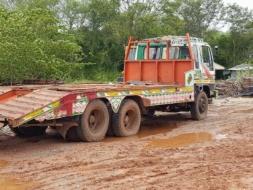 รถรถเทรลเลอร์ รถเทเลอร์ 10 ล้อ HINO รุ่น FM3HNLA  195 แรงม้า