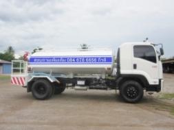 รถบรรทุกอีซูซุ ต่อแท็งก์น้ำ 3,000ลิตร