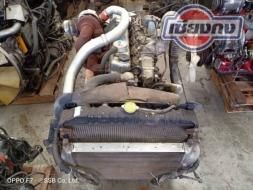 ขายเครื่อง FUSO M6 6D16 3AT2 Turbo Intercooler ยูโร3