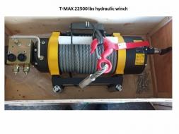 ไฮโดรลิควินซ์ 22500 ปอนด์ Hydraulic Winch 22500 Lbs.