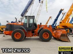 รถตักTCM ZW220